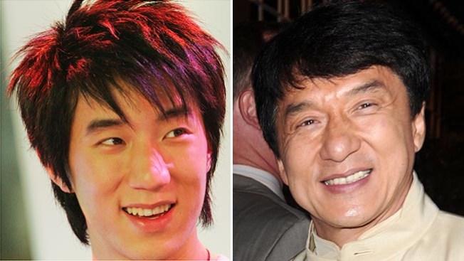 Arrestan a hijo del actor Jackie Chan