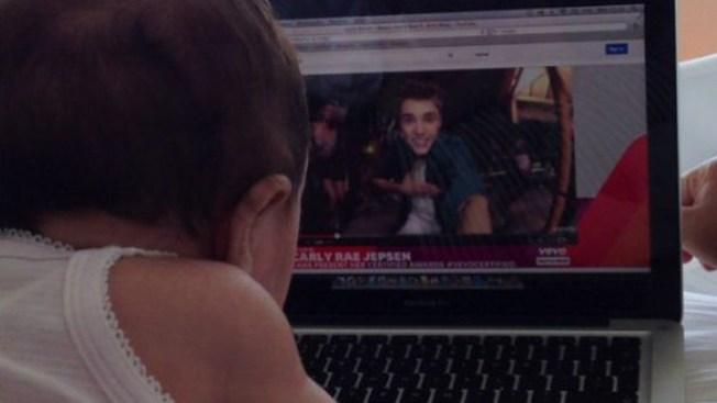 Hija de jugador, loca con Justin Bieber