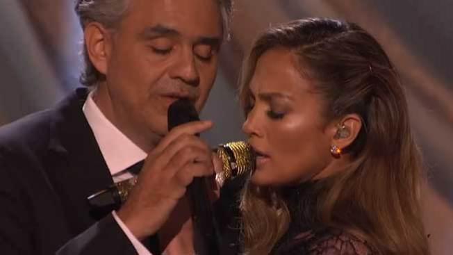 J.Lo y Andrea, un dueto muy singular