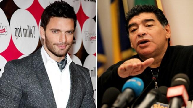 Julián Gil critica a Maradona