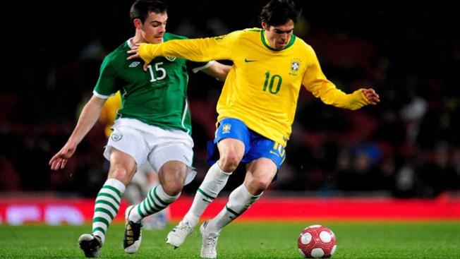 "Kaká vuelve a la ""seleção"""