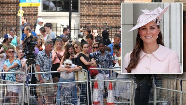 Kate Middleton, a punto de dar a luz
