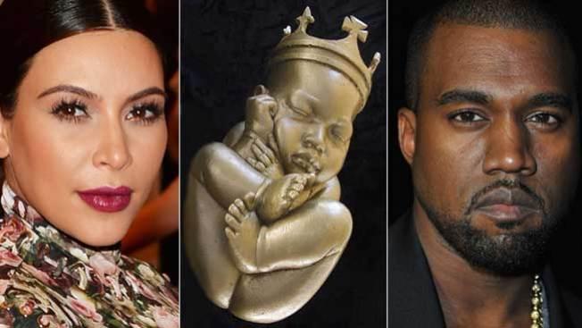 """Conoce al """"bebé"""" de Kim y Kanye"""