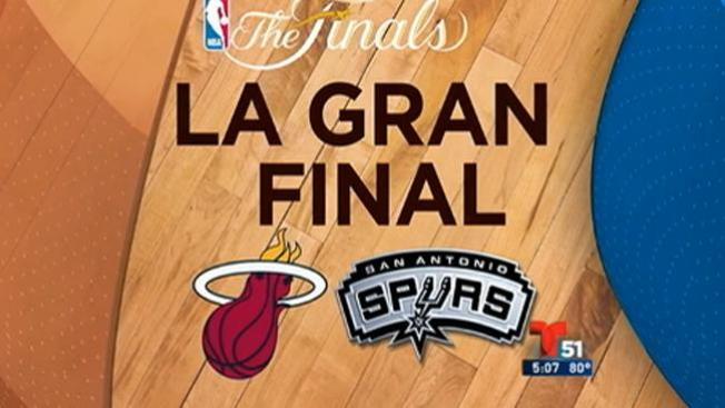 El Heat a la batalla contra los Spurs