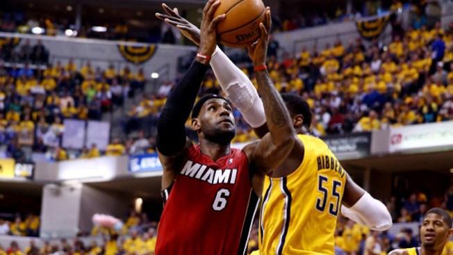 Los Pacers de Indiana aplastan al Heat