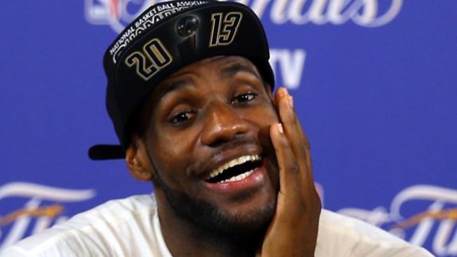 LeBron James: de campeón a humorista