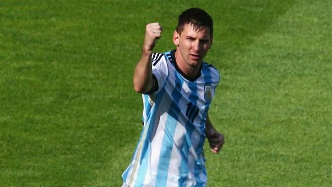 Lionel Messi salva a Argentina de Irán