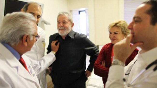 Lula comienza tratamiento contra cáncer