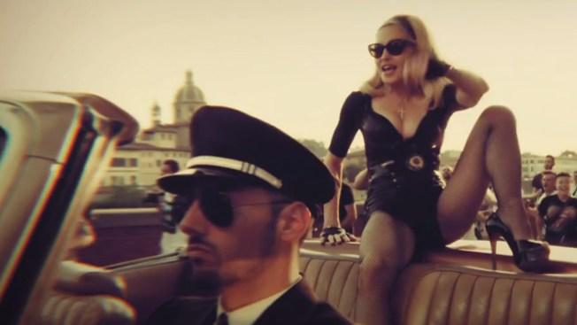 Madonna levanta pasiones a su paso