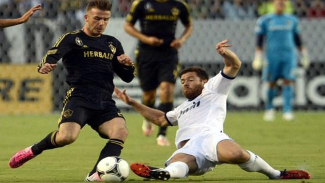 Real Madrid golea al Galaxy