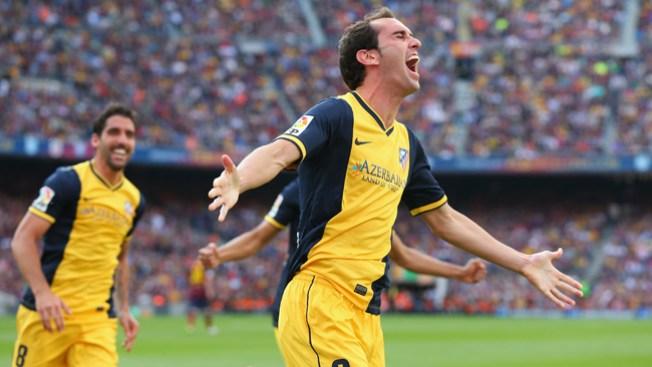 Atlético Madrid ganador de liga española