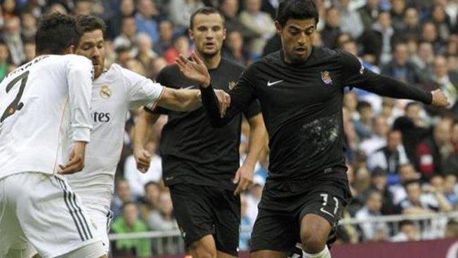 Real Madrid arrolla a la Real Sociedad