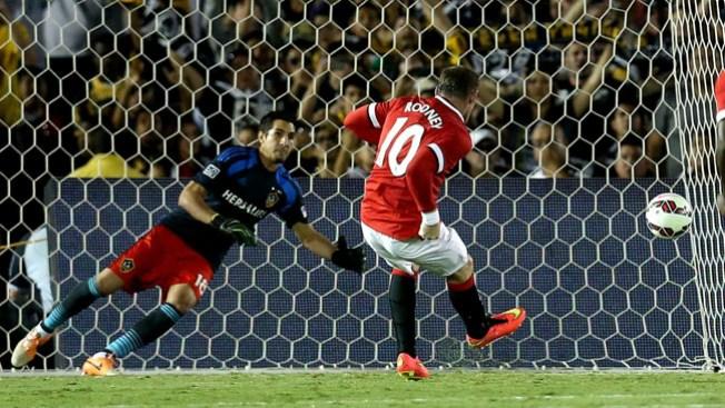 Manchester United aplasta a Galaxy 7-0