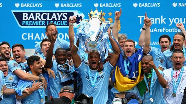 Manchester City campeón de la premier