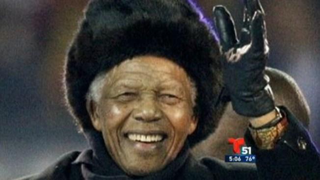 Lo que el fútbol le dio a Mandela