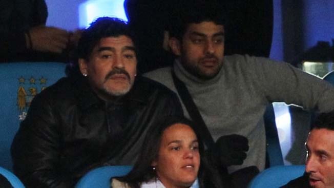 Despiden a Maradona