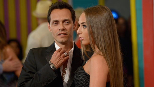 Marc Anthony en Miami con su novia