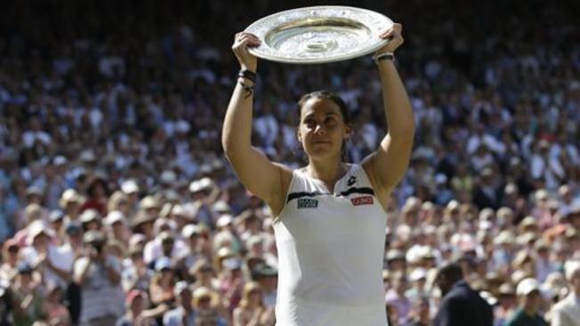 Marion Bartoli gana Wimbledon