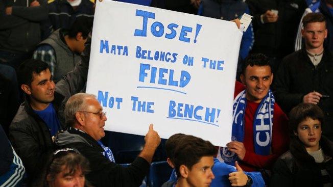 Mourinho niega crisis con el Chelsea