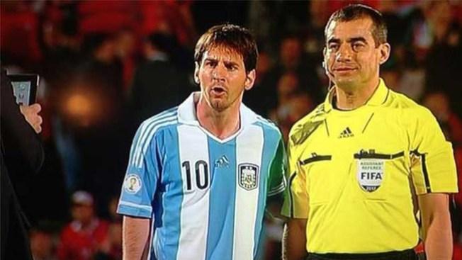 Colorido fantástico en el Argentina Vs Croacia