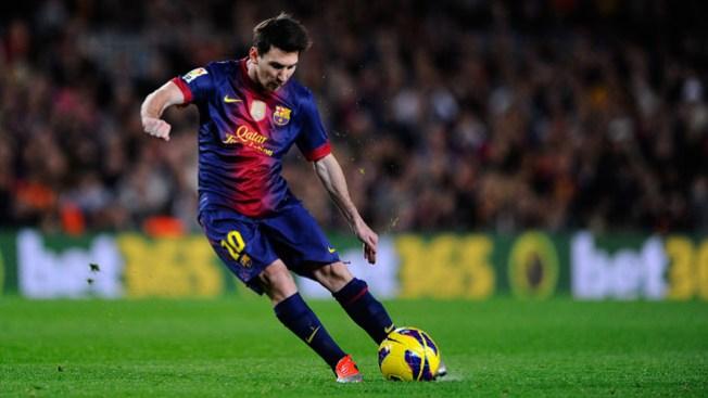 "Thiago Messi fue ""fichado"""