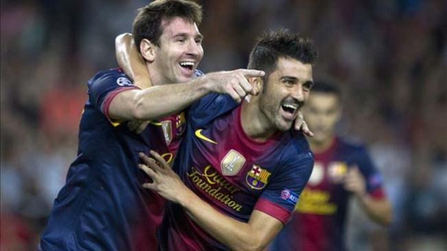 Messi rescata al Barsa