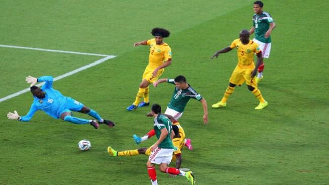 México vence a Camerún 1-0