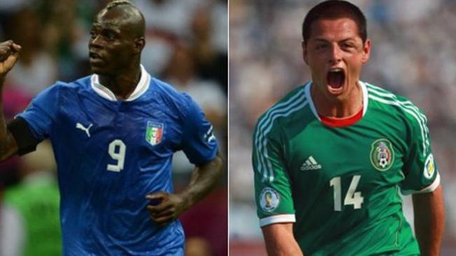 Italia derrota al Tri en la Confederaciones