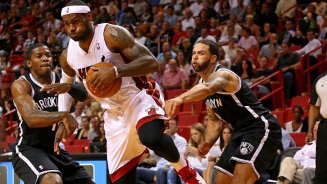 Miami pone 2-0 serie contra los Nets