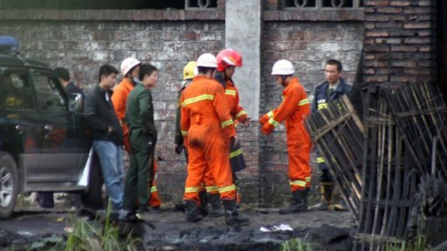 Mineros chinos quedan atrapados