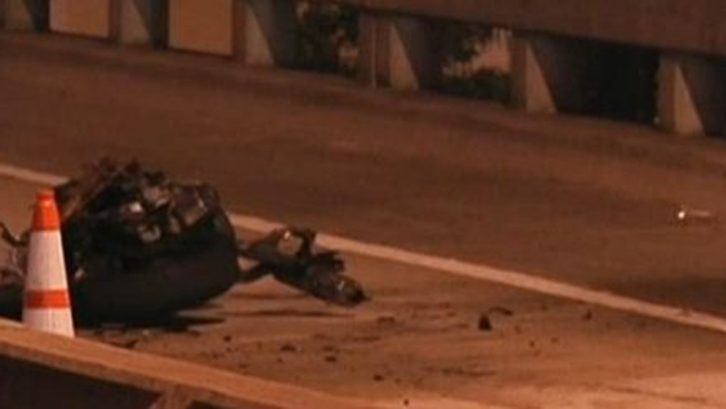 Motociclista muere en violento accidente