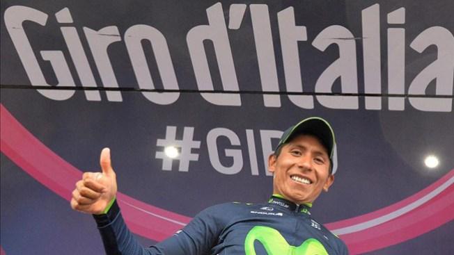 Giro: Nairo Quintana virtual ganador