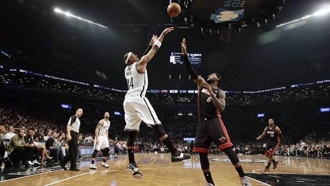 Primer triunfo de los Nets ante los Heat