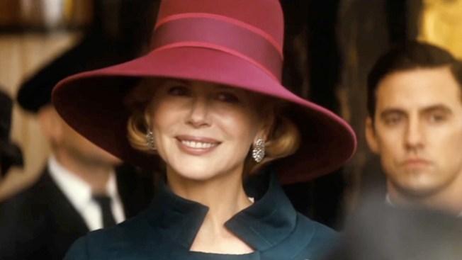 Nicole Kidman se luce como princesa