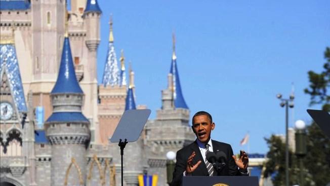 Obama le busca amigos a Mickey
