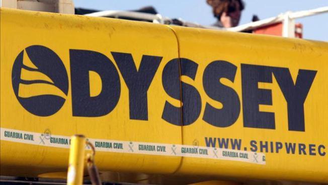 Odyssey no quiere entregar tesoro