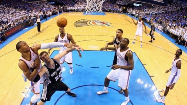 Oklahoma iguala la serie con los Spurs