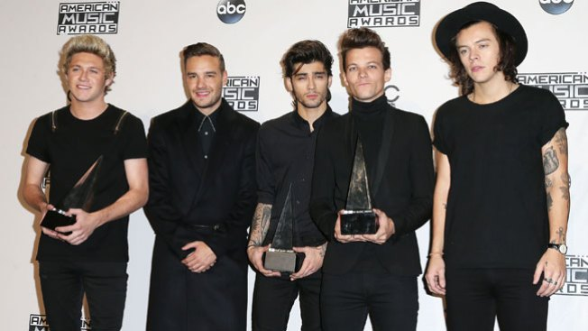 One Direction triunfa en los AMA