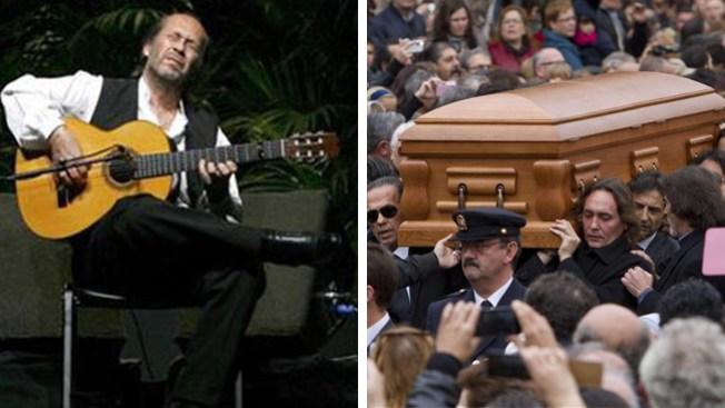 Paco de Lucía recibe emotivo funeral