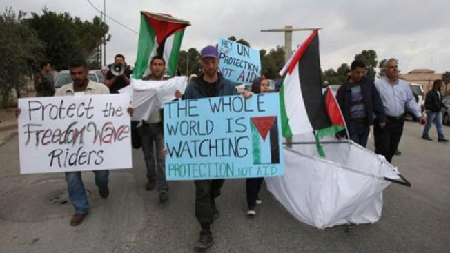 Flotilla se dirige a Gaza