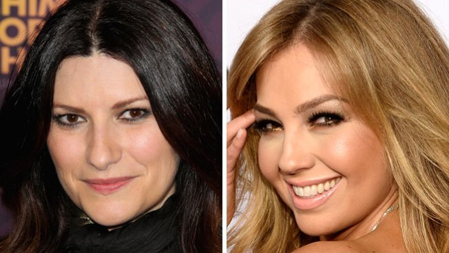"""Laura Pausini, con Thalía y a """"La Voz"""""""