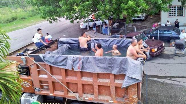 Cuba por dentro piscinas a lo cubano telemundo 51 for Como hacer una piscina economica