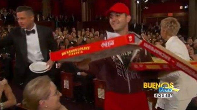 """Gran propina al """"pizzero"""" de los Oscar"""