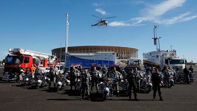 Policía brasileña antiterrorista preparada para el mundial
