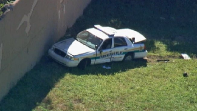 Policía herido en tiroteo en la I-95