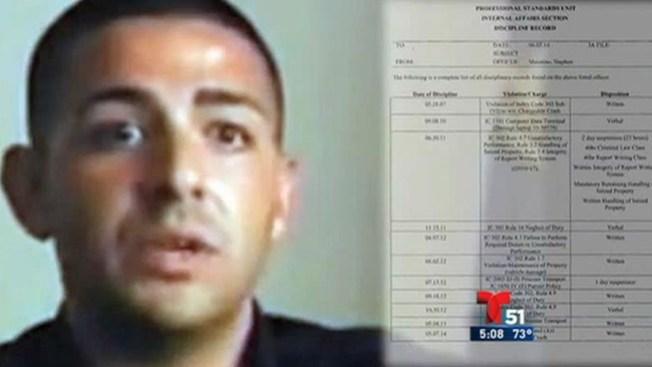 Policía acusado de violar a una joven