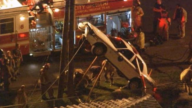 Aparatoso accidente de un policía