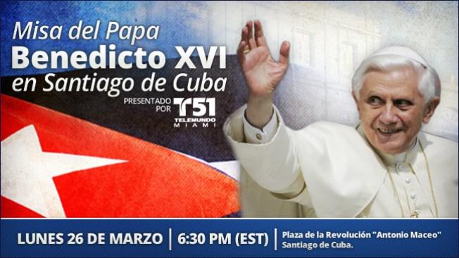 Misa del Papa en directo en Telemundo51.com