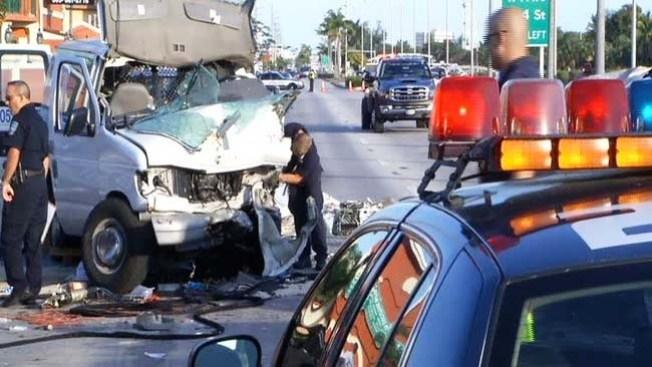 Hialeah: un muerto en accidente