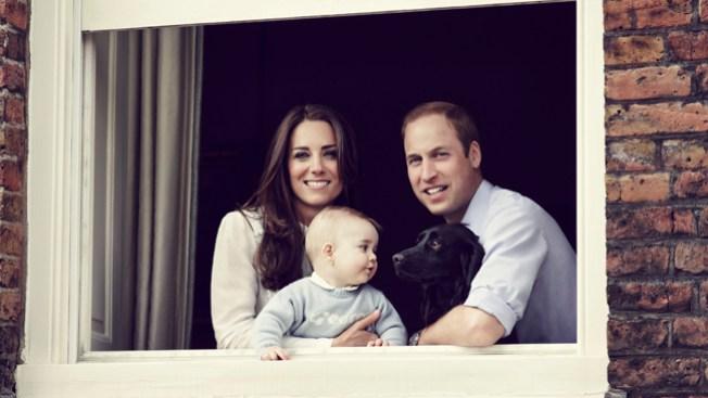 Nueva foto oficial del príncipe Jorge